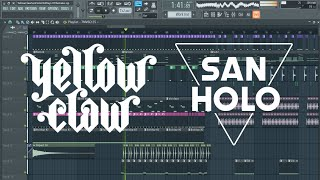 Yellow Claw San Holo Old Days Remake Free FLP