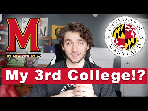 Why I Am Transferring To The University Of Maryland (my 3rd College...)