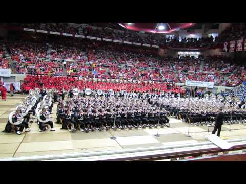 Ohio State Marching Band Plays Ramp and Iowa Fight Song and Beautiful Ohio at the Skull Session 10