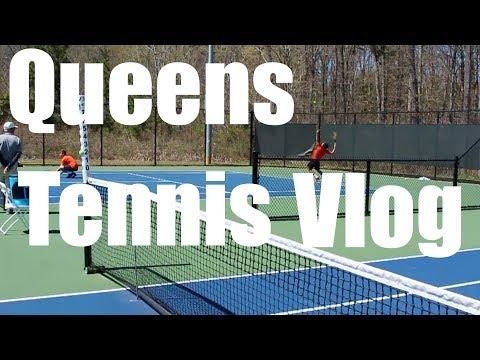 Queens Tennis vs Tusculum college Vlog