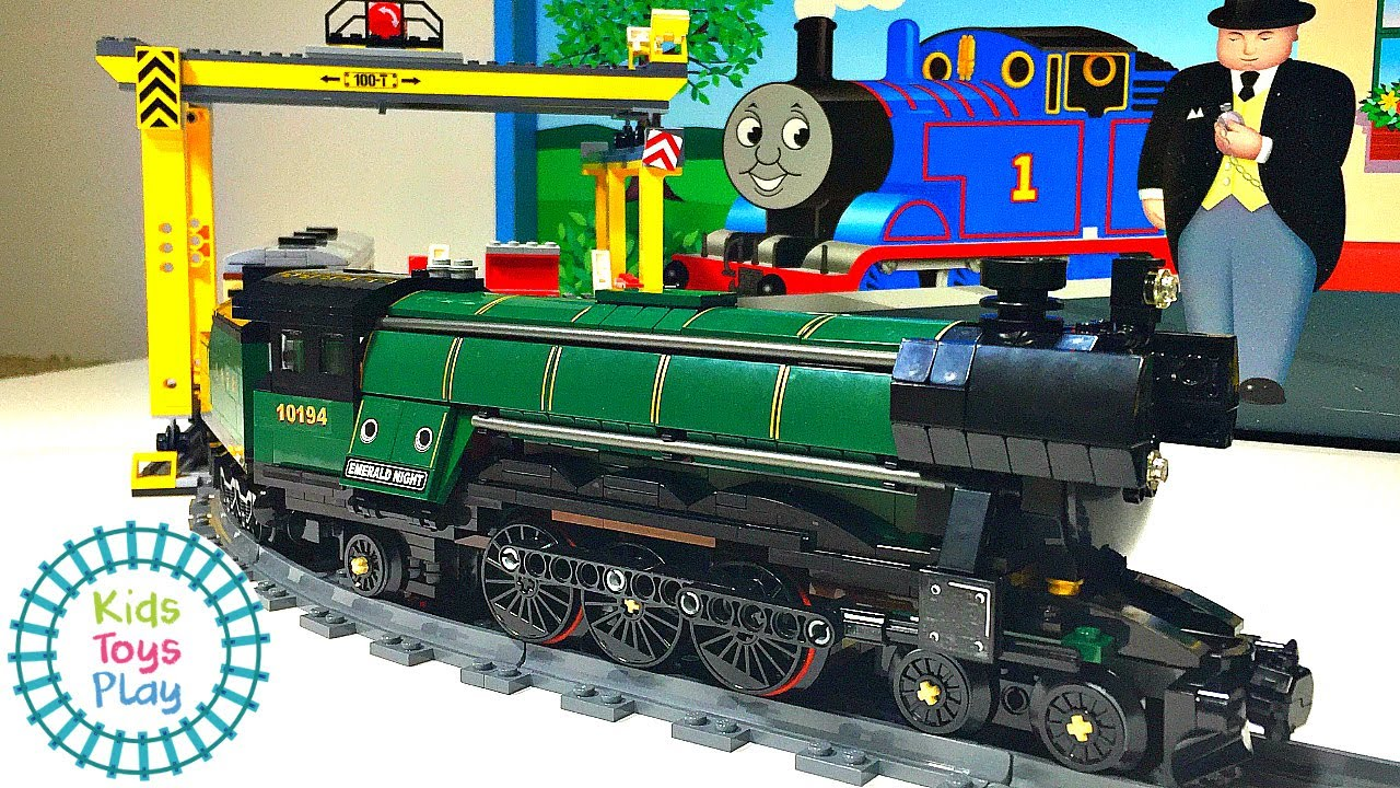 Lego Train Emerald Night Speed Build and Review