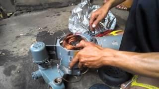 TUTORIAL CARA LILIT ULANG mesin pompa air