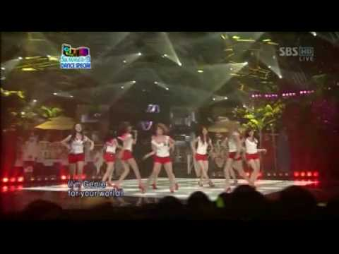090802 SNSD 'Tell Me Your Wish(Genie)' (Popular Song)[Girls' Generation].mp4