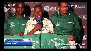 Zulu Messengers live on White Media Africa TV that was iMpucuzeko Maskandi 2018