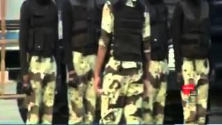 فيديو: جندي سعودي يسحب شاحنة ثقيلة بمفرده