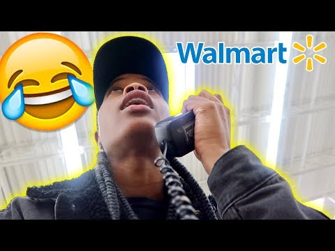 I TRIED TO GET US KICKED OUT OF WALMART!!!