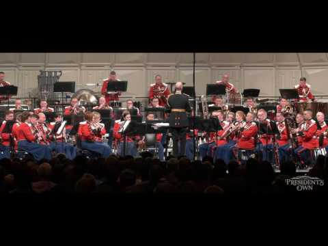 "GRAINGER Molly on the Shore - ""The President's Own"" United States Marine Band"