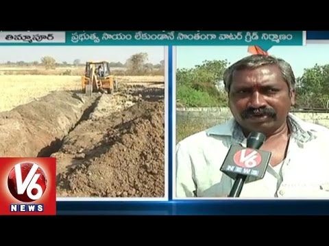 Thimmapur Villagers Built Self Help 'Water Grid' | Ideal Village In Telangana | V6 News