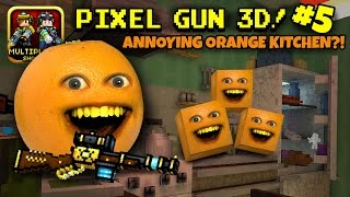Pixel Gun 3D #5: Annoying Orange Kitchen?!