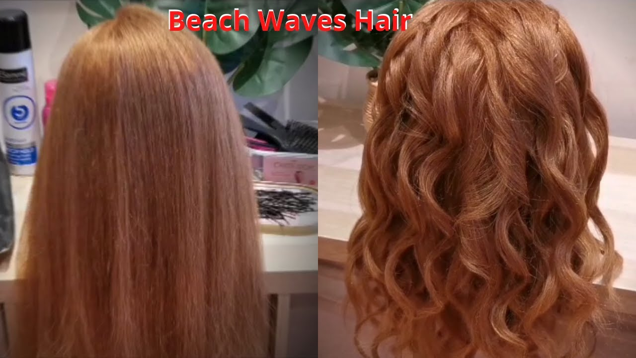 Beach Waves Hair Tutorial Video | Hairstyle 2020 | Step by Step | by Mehwish | MS Hair & Makeup ...