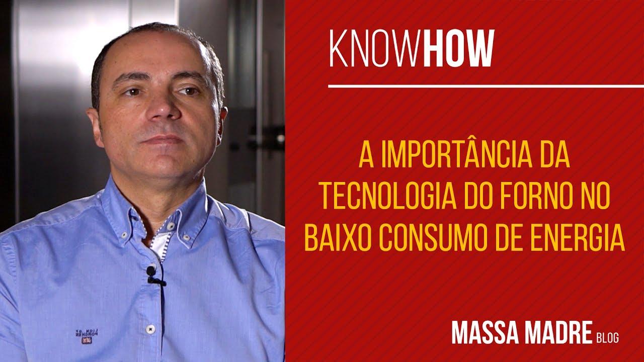 Tecnologia do forno e baixo consumo de energia