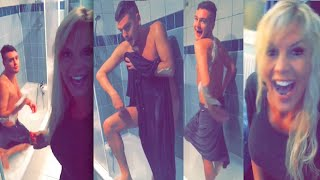 Best Of Snapchat #44 Amélie surprend Jeremstar en pleine épilation