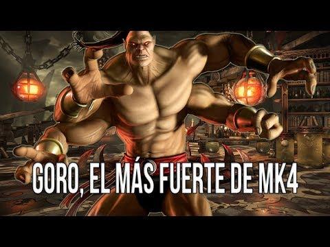 MKXL   Goro, el más fuerte de Mortal Kombat 4 thumbnail