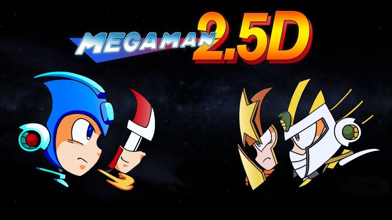 [Megaman 2.5D] Rock Man 2 ในรูปแบบ 2.5 มิติ!!