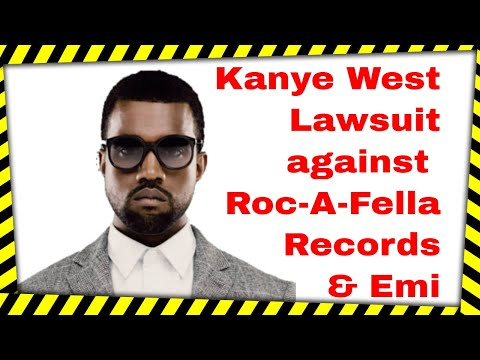 Kanye West speaks lawsuit against record label Roc-A-Fella Records & music publisher Emi Publishing Mp3