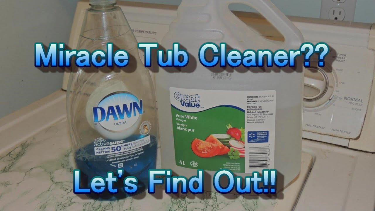 Miracle Bath Tub Cleaner - YouTube