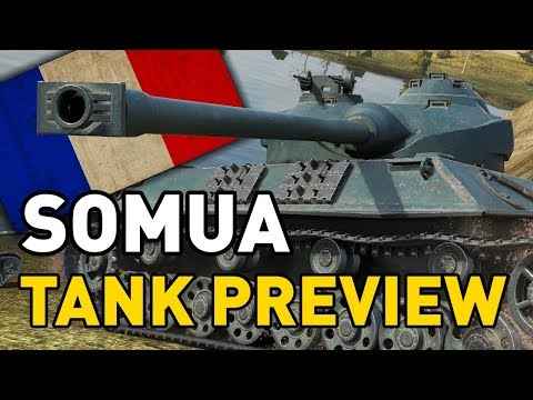 World of Tanks    Somua SM - Tank Preview