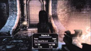 SKYRIM Guide Pickpocket 100