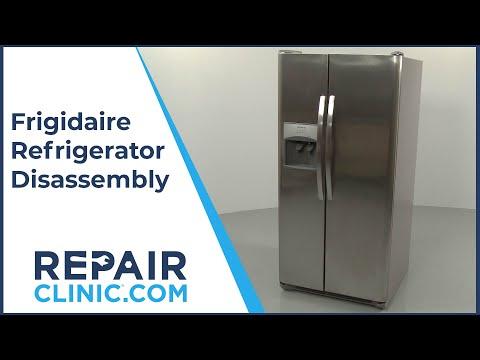 Frigidaire Refrigerator Disassembly FFSS2315TS0
