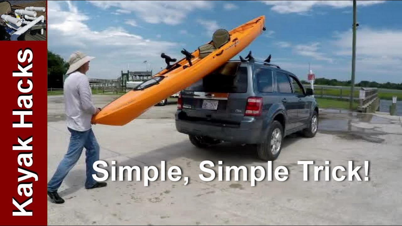 Easy One Person Method To Load Kayak On Suv Without