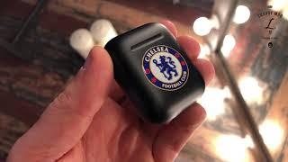 видео: Кастомные чёрные AirPods с эмблемой ФК «Челси»