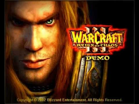 Arthas entering Lordaeron ,Human ending song