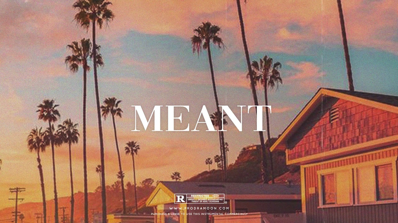 """Meant"" - Afrobeat x Dancehall Type Beat"
