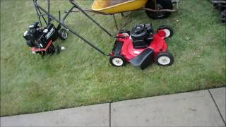 Homemade Tow Behind Sulky For Walk Behind Mower  - [Cap10323