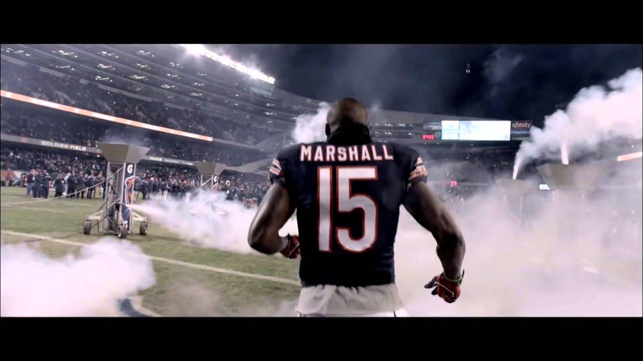 wholesale dealer a8bbd 7224c ESPN Monday Night Football Commerical 2014 - Brandon Marshall