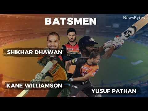 IPL 2018: Best fantasy XI for SRH vs RR encounter