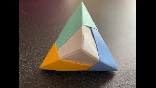 Origami Hexahedron