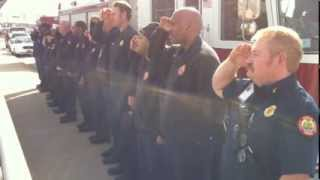 College Park Fire Rescue Honors Firefighter from Waycross, Georgia