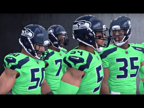NFL 18 Thursday Night Football - Seattle Seahawks vs Arizona Cardinals (Madden NFL 18 Gameplay)