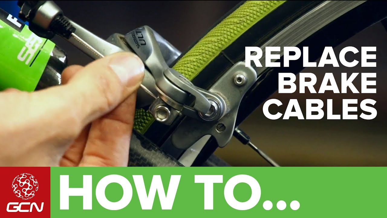hight resolution of how to change your brake cables