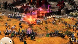 Undead Empire Fantasy RTS Kohan 2 Kings of War Gameplay 3 Player FFA