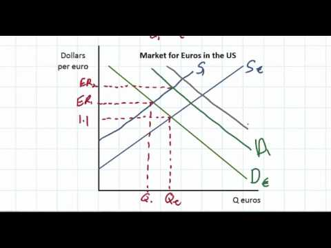 The Determinants Of Exchange Rates In A Floating Exchange Rate System