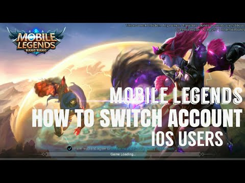 How To Switch Account in Mobile Legends Bang Bang IOS - iphone ipad users  2018