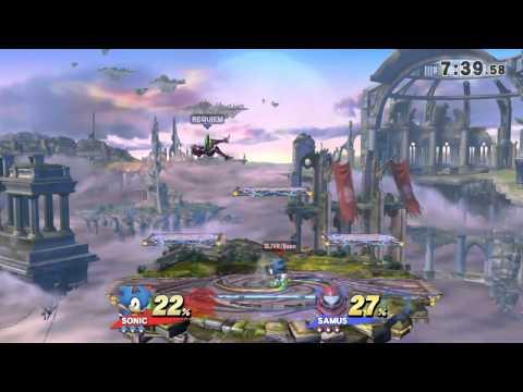 UoM 8/15 Arcadian, Losers Finals: Requiem (1211 Link/Samus) v. spiNR (1211 Sonic)
