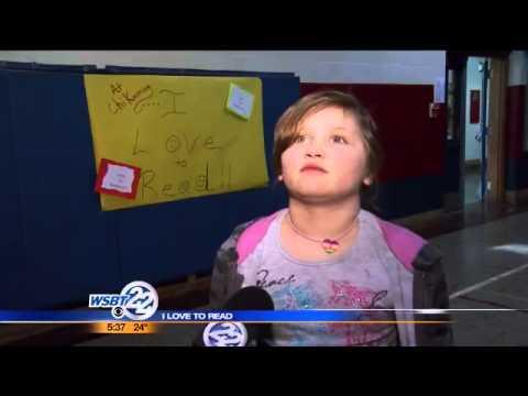VIDEO: I Love to Read - Sawyer's Chikaming Elementary School