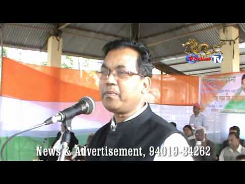 Nazira, Felicitation of Pawan Singh Ghatowar, Patkai TV