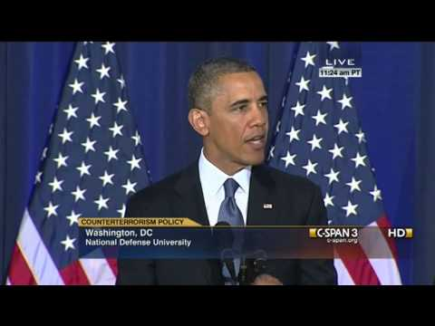 President Obama on Counterterrorism and US foreign policy