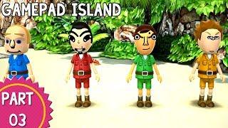 Wii Party U - Episode 03: Gamepad Island (Part 1/2)