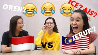MALAYSIAN vs INDONESIA (WORDS)