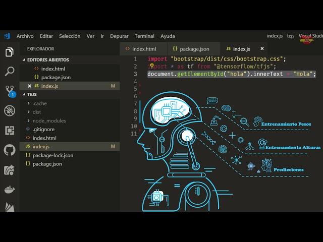 Curso de TensorFlow.js. Mejora tus Aplicaciones Web Modernas con el uso de I. A.