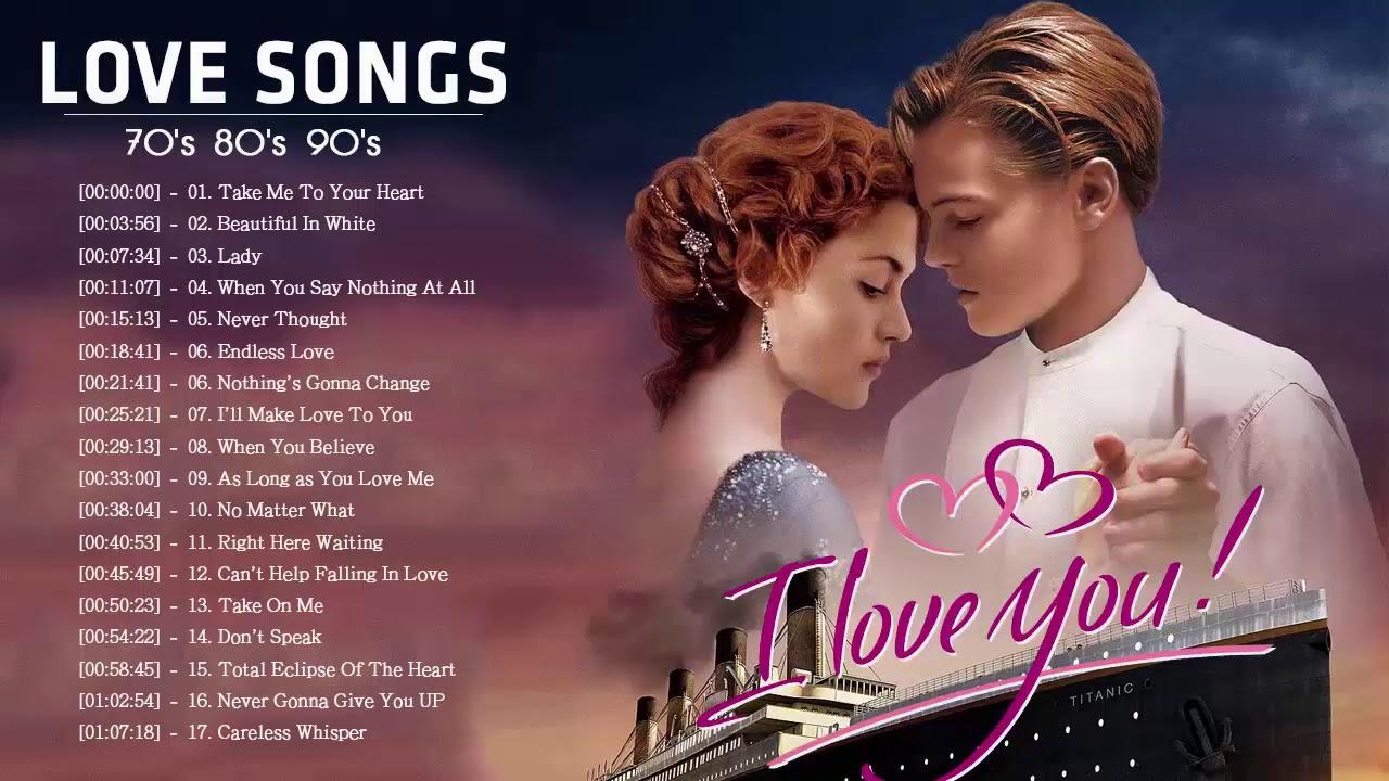 Musica Romantica En Ingles De Los 70 80 Y 90 Romanticas Viejitas En Ingles 70 S 80 S Y 90 S Youtube