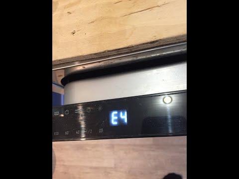 Ошибка Е4 Перелив посудомойка Hansa