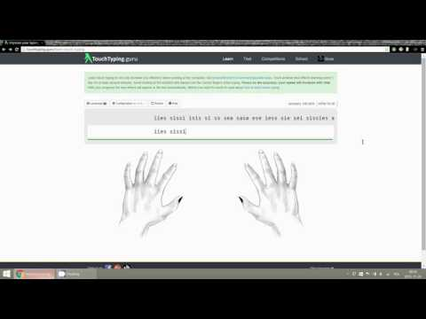 Learn In One Hour How To Touch Type New Better Method