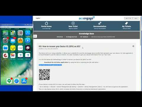iOS: How to recover your Device ID (IDFV) on iOS? : Accengage