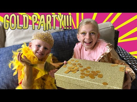 """My """"Everything Gold"""" Party!"""