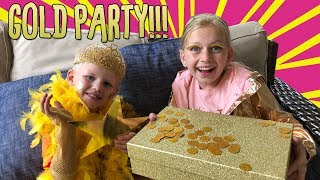 "My ""Everything Gold"" Party!"